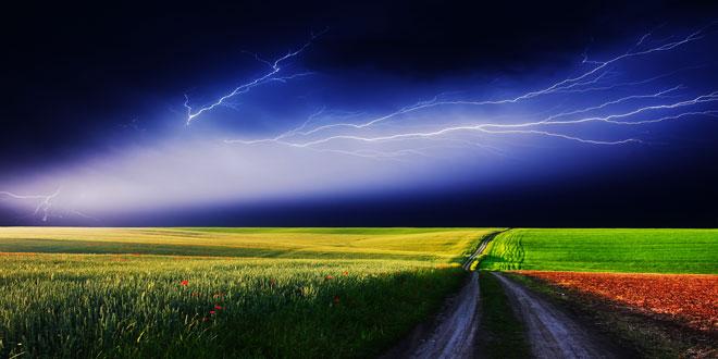 Eπιδείνωση του καιρού με ισχυρές βροχές και καταιγίδες