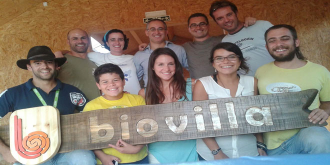 Μια ομάδα νεαρών Πορτογάλων και το οικολογικό αγρόκτημα
