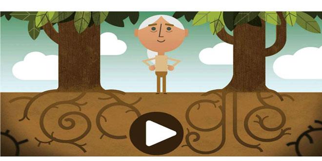 To doodle της Google για την Παγκόσμια Ημέρα της Γης
