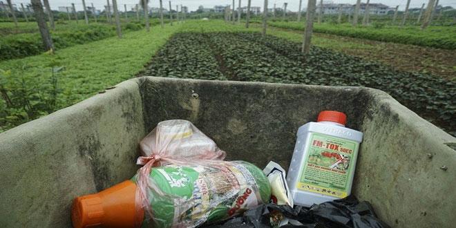 Ξεκινά η συλλογή κενών φιαλών φυτοφαρμάκων στην Π.Ε. Λάρισας