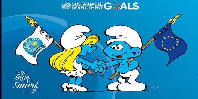 Μαζί Ε.Ε. και Στρούμφ για τον παγκόσμιο καθαρισμό των παραλιών