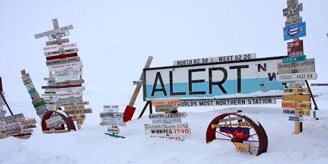 Απόλυτο ρεκόρ ζέστης στο βορειότερο κατοικημένο μέρος στον πλανήτη