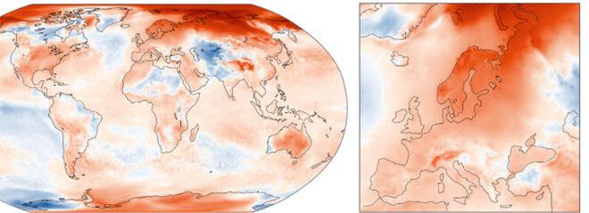 Το πιο ζεστό φθινόπωρο βίωσε φέτος η Ευρώπη